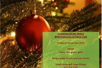 Christmas Social - http://ilovehermanus.co.za/event/christmas-social/