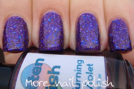 Smitten polish - You're Turning Violet, Violet