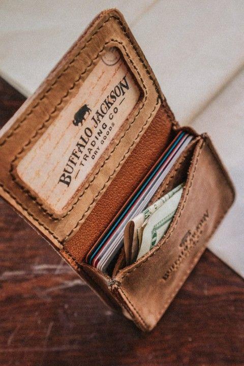 Men's Denver Satchel Wallet - Whiskey