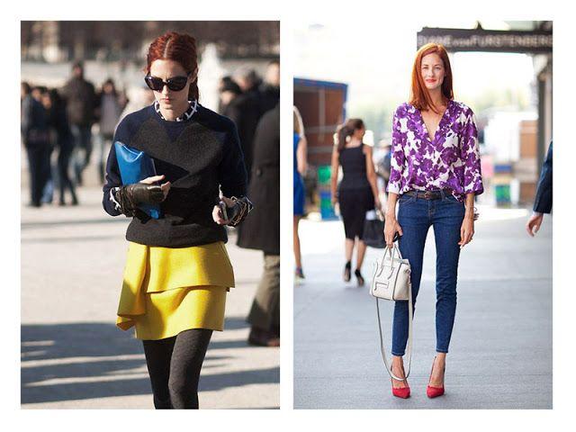 Акценты в образе: акцентные вещи + базовая одежда