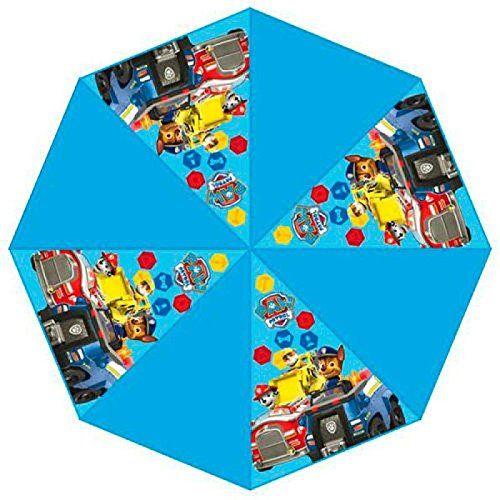 Paraguas PAW PATROL 48cm celeste vehiculos - http://comprarparaguas.com/baratos/patrulla-canina/paraguas-paw-patrol-48cm-celeste-vehiculos/