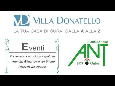 Progetti di prevenzione oncologica - Intervista all'Ing. Lorenzo Bifone - YouTube