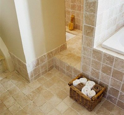 Carrelage, vasque, évier en pierre naturelle travertin mcta ! ***  salle de bains