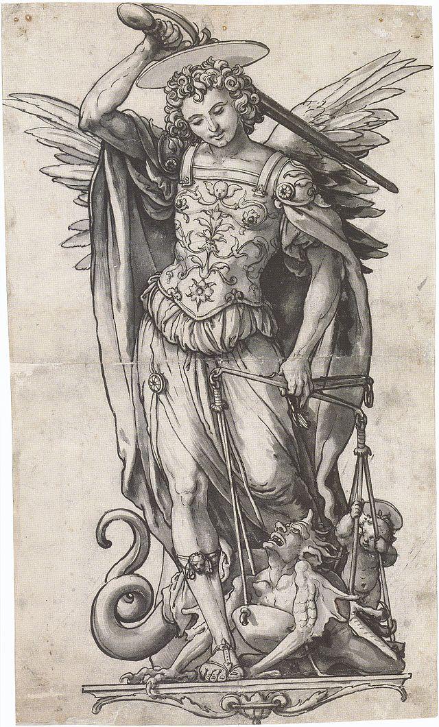 Según John Dee, sólo el arcángel San Miguel podría descifrar el verdadero significado del Libro de Soyga