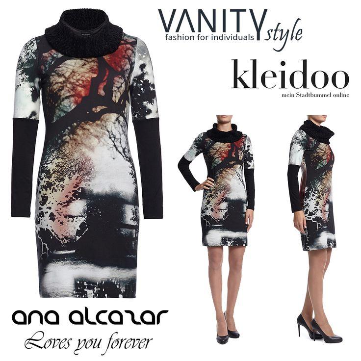 eyecatcher für einen einzigartigen herbst 2014, das kleid von #anaalcazar mit abstraktem muster und turbulentem Design.  jetzt auch im online-shop verfügbar  #balingen #vanity #vanitystyle #fashion #style #lifestyle