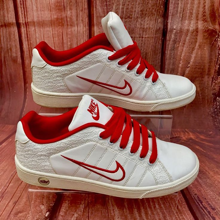Nike NP1 UniSex Trainers Outstanding Condition White Red jordans shoes classic