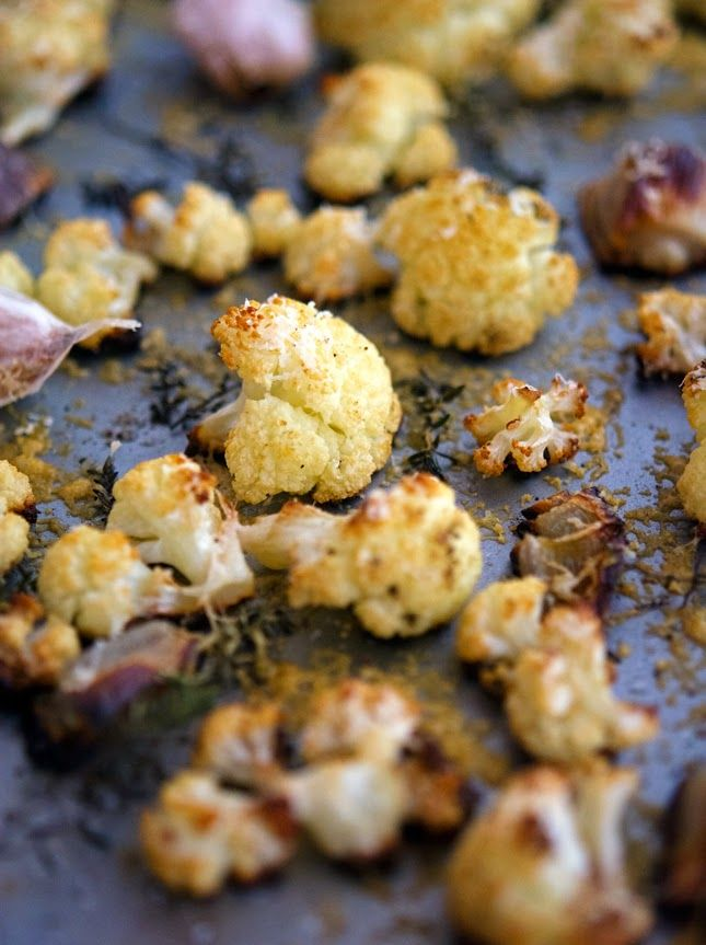 The Iron You: Parmesan-Roasted Cauliflower