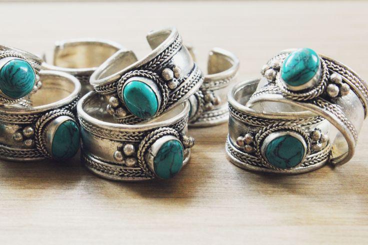 Magick Turquoise Ring | Naked Faun Jewellery | £10 | www.nakedfaun.com