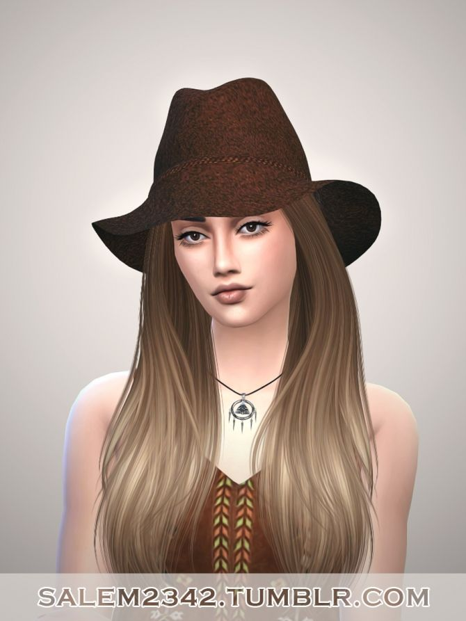 Pin By Donovan Westjohn On Sims 4 Female Hats Sims 4 Cc