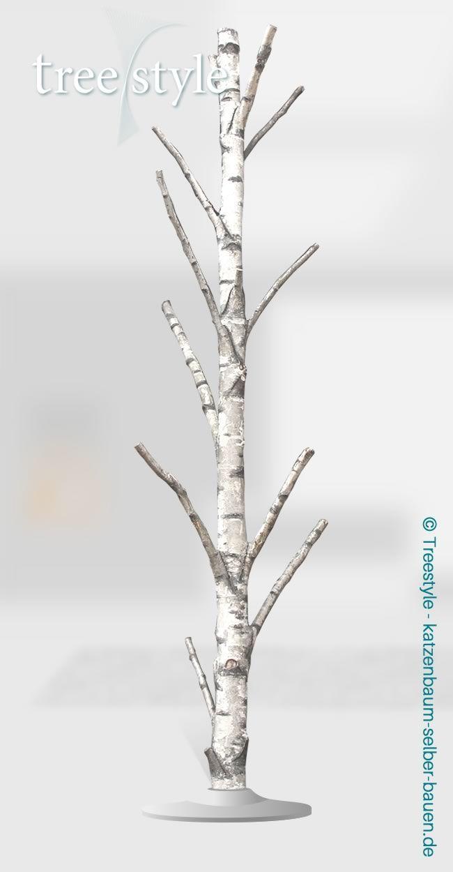 Baum Nr. b15 - Birke: H 310cm B 80cm T 80cm - Bau Dir Deinen eigenen Katzenbaum - Treestyle!