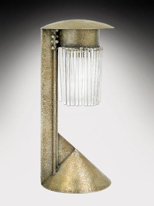 Koloman Moser table lamp, circa 1902