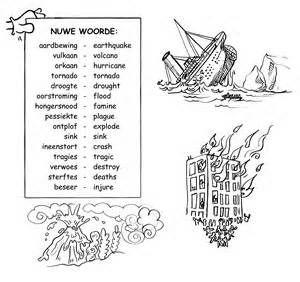 Nuwe woorde | Afrikaanse woorde | aardbewing