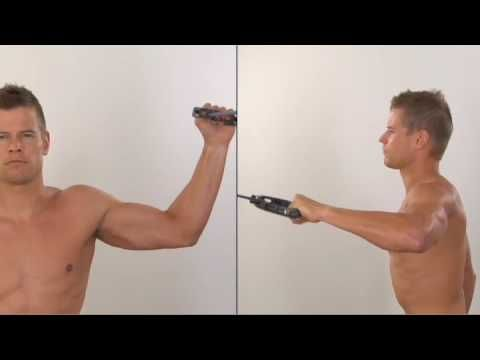 17.4 Rotator Cuff Infraspinatus Strengthening - YouTube