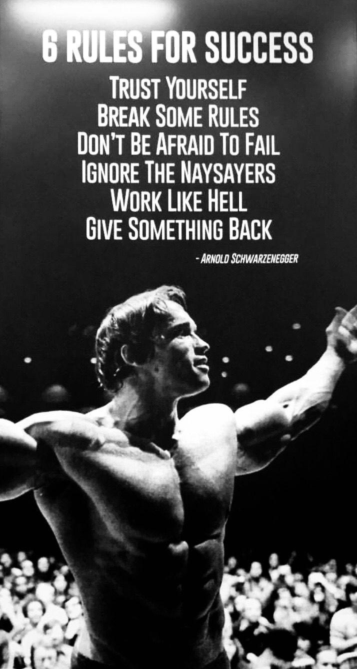 Pin By Nicholas Richmond On Schwarzenegger Trust Yourself