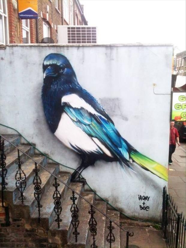 Now That's street Art!