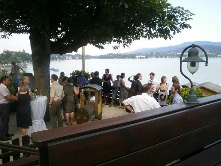 Out of town: Litzlberger Keller, Attersee