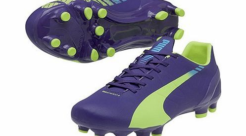 """Puma evoSPEED 4.3 Firm Ground Football Boot - Puma evoSPEED 4.3 Firm Ground Football Boot - Kids PurpleSpeedCELL product """" engineered to enhance your speed.The Puma evoSPEED 4.3 Firm Ground KidsFootball Bootutilizes a soft and lightweight syn http://www.comparestoreprices.co.uk/football-equipment/puma-evospeed-4-3-firm-ground-football-boot-.asp"""