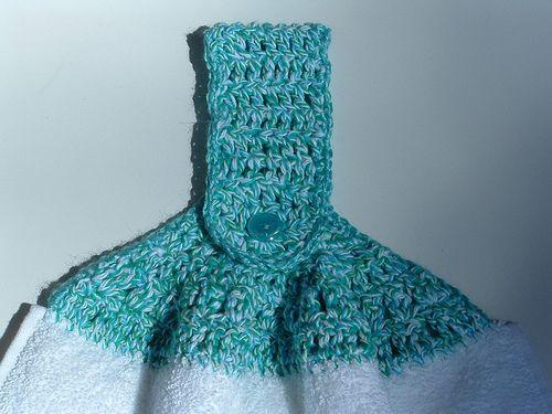 Free Crochet Towel Topper Patterns Kitchen Swap Set My