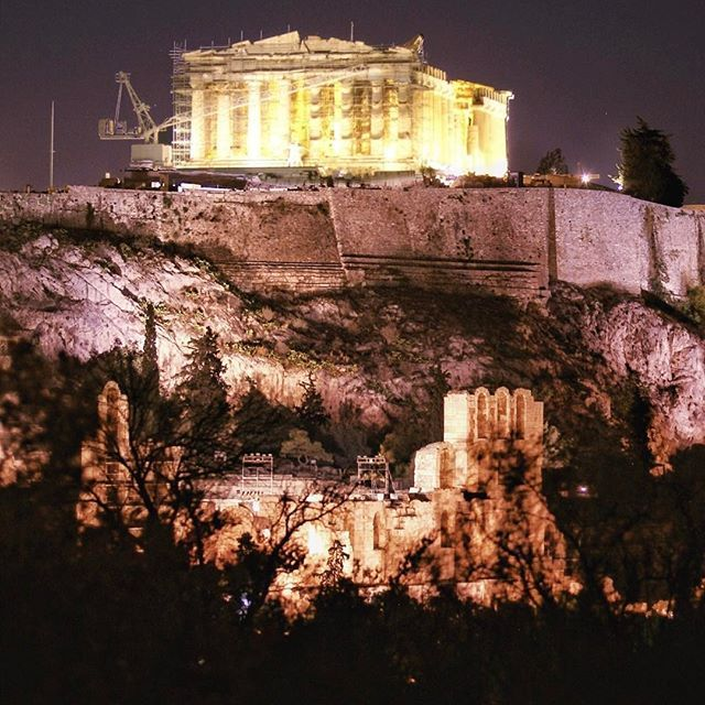• the symbol of  C I V I L I Z A T I O N • Parthenon at the Acropolis of the city of ATHENS, Greece