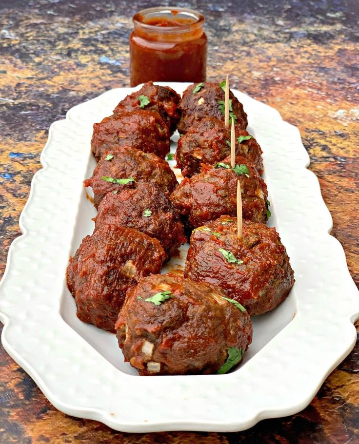 Super Easy Keto LowCarb Air Fryer BBQ Beef Meatballs is a