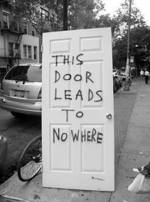 This Door Leads To Nowhere