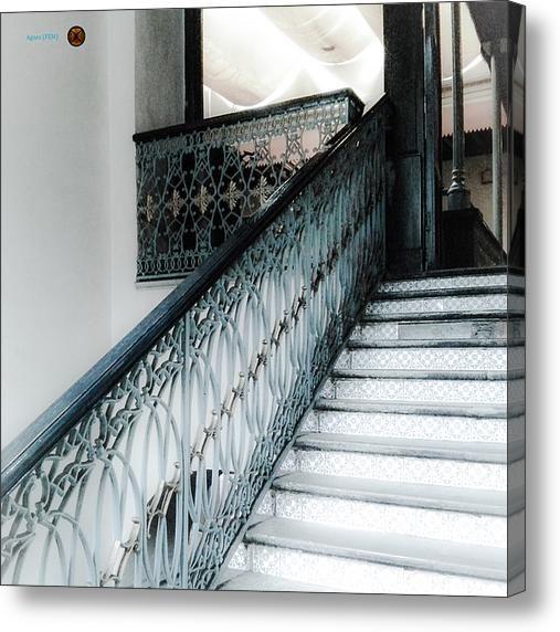 Laescalinata55 Acrylic Print By Agnes Fem