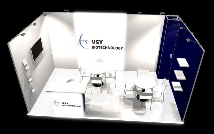 VSY Biotechnology stand design