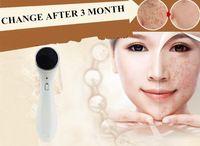 la medicina tradicional china eléctrico lavado de cara cepillo Máquina acné facial del poro removedor de la espinilla cuidado de la cara del cepillo del Massager