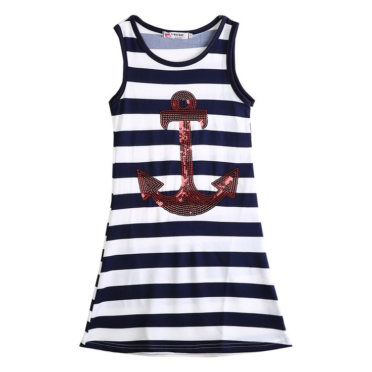 $4.11 (Buy here: https://alitems.com/g/1e8d114494ebda23ff8b16525dc3e8/?i=5&ulp=https%3A%2F%2Fwww.aliexpress.com%2Fitem%2FHot-Girls-Summer-Dress-Fashion-Kids-Girls-Sequins-Anchor-Navy-Stripes-sleeveless-Party-Dress-Maxi-Sundress%2F32725172650.html ) Hot Girls Summer Dress Fashion Kids Girls Sequins Anchor Navy Stripes sleeveless Party Dress Maxi Sundress 3-8Y for just $4.11