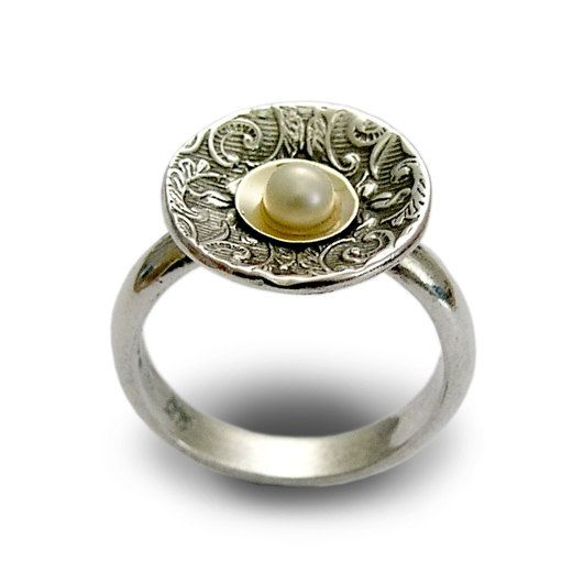 34 best bague perle images on Pinterest