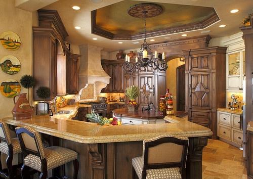Kitchen Mediterranean Kitchen Design, Pictures, Remodel, Decor and Ideas