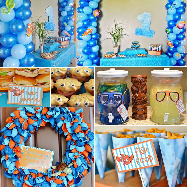 Pinterest the world s catalog of ideas for Nemo decorations