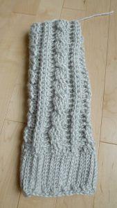 Crochet Leg Warmer for Boots