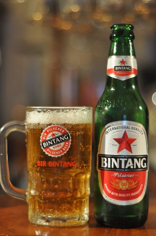 Bintang is the most famous beer brand in Indonesia and a lot of people outside Indonesia know this brand.