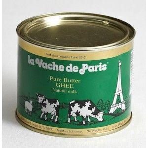 Butter ghee (beurre clarifié) La Vache de Paris 450g