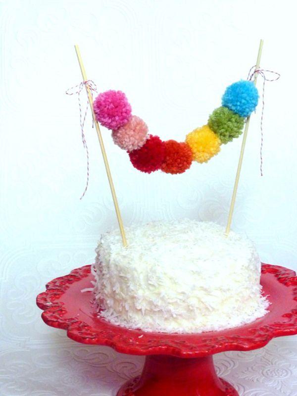 Wełna jako motyw przewodni ślubu http://minwedding.pl/blog/?p=2816 zdjęcie: ShortcakePartyShop