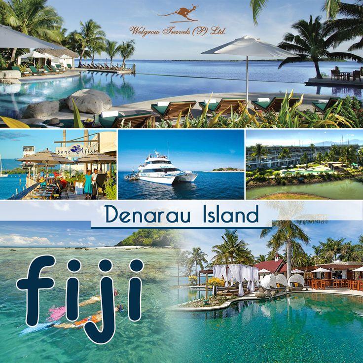 Denarau Island, Fiji Tour   Denarau #Island is a small private island in Fiji northwest of the main island of #VitiLevu.   Denarau is known for its hotels and resorts fringing the island with the 18-hole Denarau Golf course as its centrepiece.   Explore #Fiji with our Luxury #TourPackage at: http://www.welgrowgroup.com/luxury-travel-destinations-fiji   #WelgrowTravels #LuxuryTravel #Destinations #LuxuryTrip