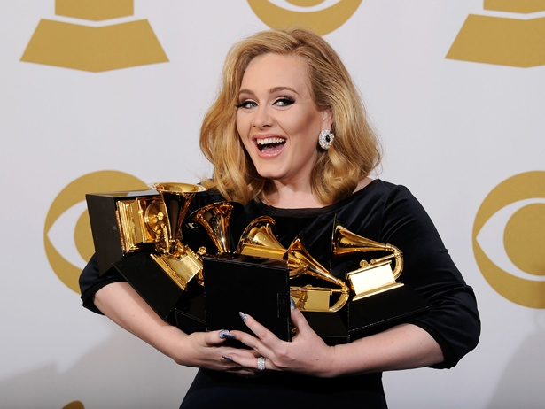 Adele wins SIX Grammys!  Love her!!Deserve, Music, Go Girls, Inspiration, Things, Grammy, Beautiful People, Role Models, Adele
