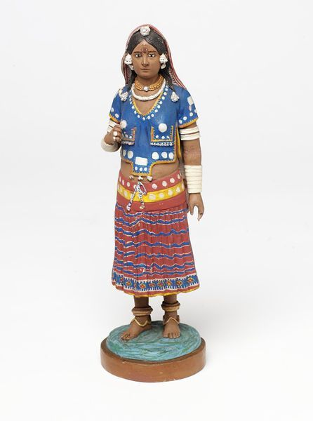 Costume doll.  India. 19th century.    V Search the Collections
