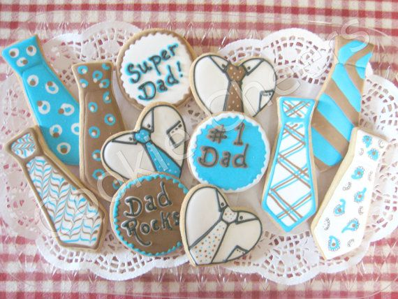 father's day cookies recipe
