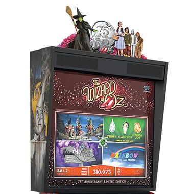 The Wizard of Oz Pinball Machine - Hammacher Schlemmer