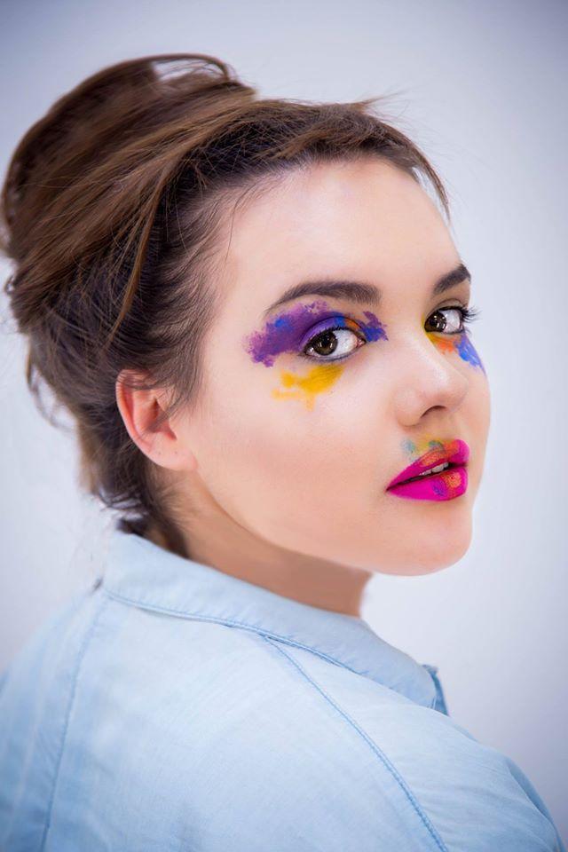 Szkoła Wizażu i Charakteryzacji SWiCh // Make-up: Paulina Parol /  Modelka: Kinga Buśko /  Fot.: Anita Kot #makeup #akademia_SWiCh #szkoławizażu #wizaż #visage #makijaż