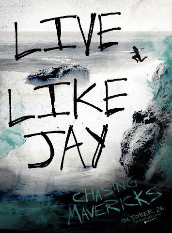 Live like Jay means that you need to live life with courage and hope. and you need to face your fears to know that you are alive