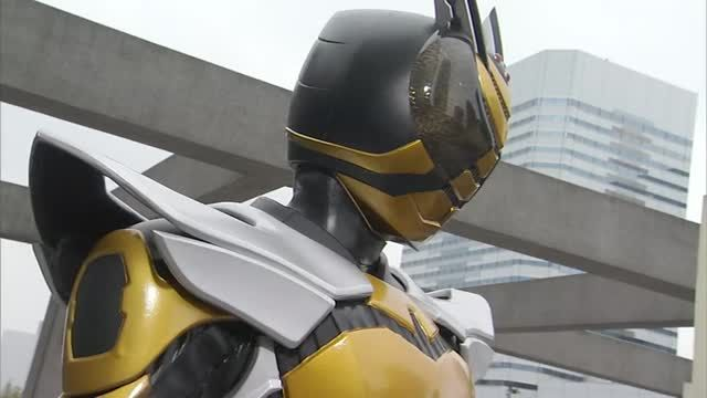 Kamen Rider TheBee, Rider Form's finishing move--Rider Sting From Kamen Rider Kabuto, episode 7