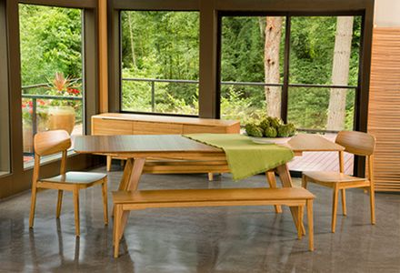 34 best Greenington Currant Dining Collection images on Pinterest