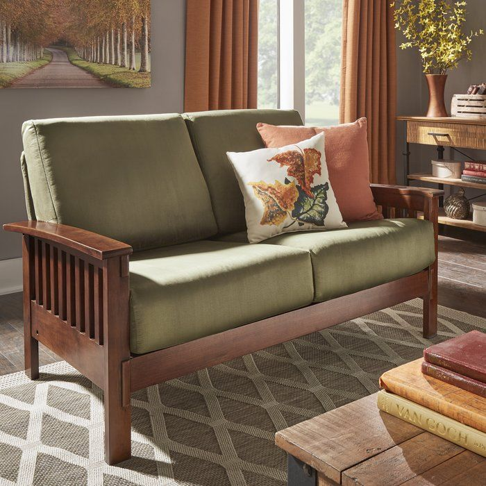 Winnifred Mission Loveseat Wooden Sofa Designs Mission Style Furniture Wooden Sofa Set