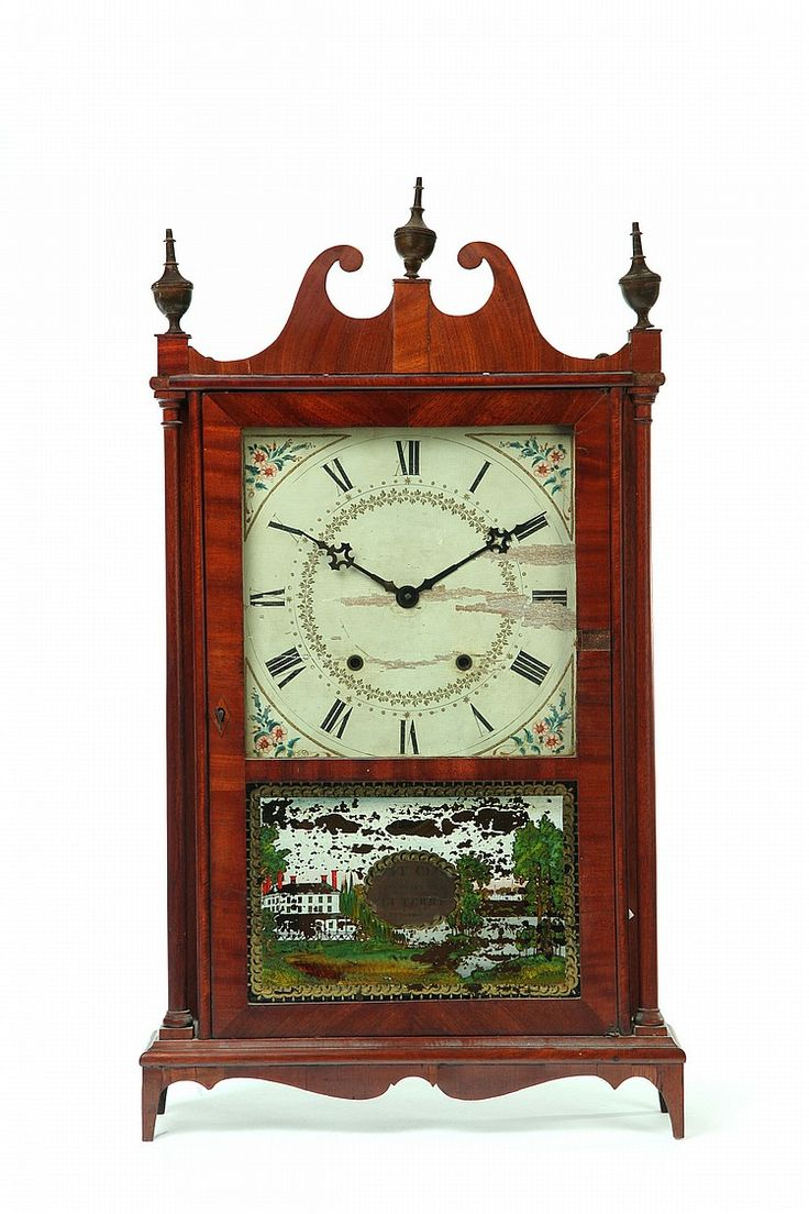 Worksheet 1st Clock 1000 images about as time goes by on pinterest auction black pillar and scroll clock american 1st half 19th century mahogany veneer