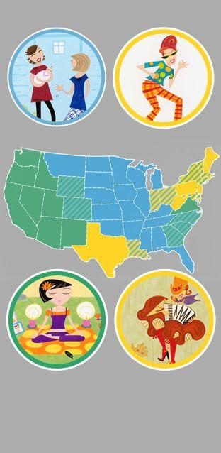 Texas, Florida oder Kalifornien: Welcher US-Staat passt zu mir? Über die Psychologie der Staaten: http://www.travelbook.de/welt/Die-Psychologie-der-Staaten-Texas-Florida-oder-Kalifornien-Welcher-US-Staat-passt-zu-mir-390855.html