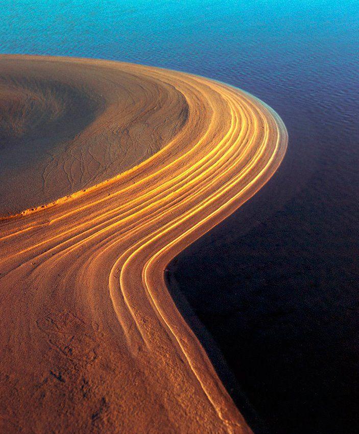 Sand dune at Storsand, Nykarleby, Ostrobothnia province of Western Finland. - Pohjanmaa.