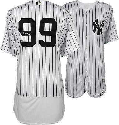 1d4b65085 Aaron Judge Yankees Signed Majestic White Authentic Jersey - Fanatics   Baseball